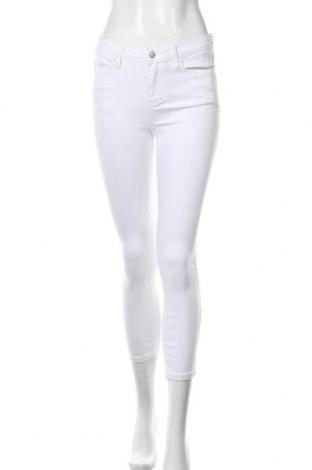 Дамски дънки, Размер S, Цвят Бял, Цена 11,82лв.