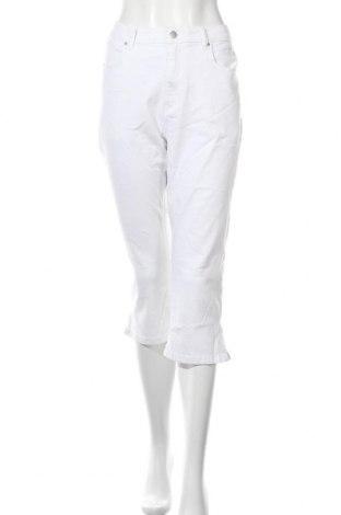 Дамски дънки, Размер L, Цвят Бял, Цена 19,28лв.
