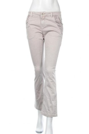 Дамски дънки, Размер S, Цвят Бежов, 98% памук, 2% еластан, Цена 4,20лв.