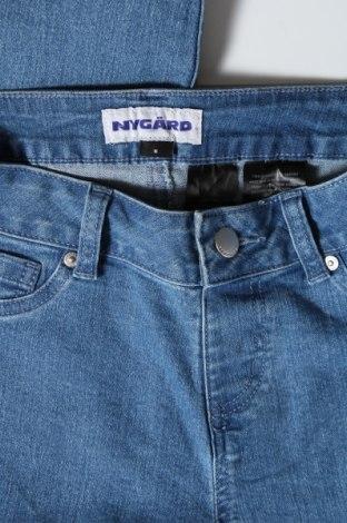 Дамски дънки, Размер S, Цвят Син, 79% памук, 20% полиестер, 1% еластан, Цена 13,64лв.