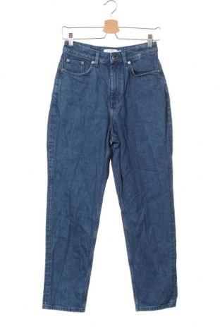 Дамски дънки & Other Stories, Размер XS, Цвят Син, 99% памук, 1% еластан, Цена 27,30лв.