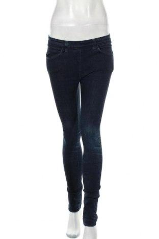Дамски дънки Acne, Размер S, Цвят Син, 98% памук, 2% еластан, Цена 45,92лв.