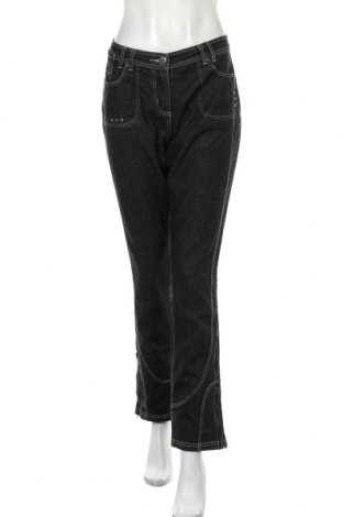 Дамски дънки Apart, Размер M, Цвят Сив, 70% памук, 25% полиестер, 5% еластан, Цена 12,73лв.