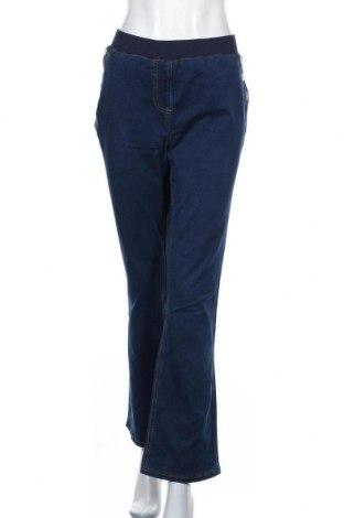Дамски дънки Bpc Bonprix Collection, Размер XL, Цвят Син, 69% памук, 29% полиестер, Цена 14,70лв.