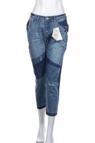 Дамски дънки Cream, Размер M, Цвят Син, 98% памук, 2% еластан, Цена 99,96лв.
