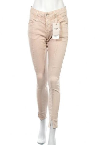 Дамски дънки Cream, Размер M, Цвят Розов, 65% памук, 34% полиестер, 1% еластан, Цена 33,86лв.