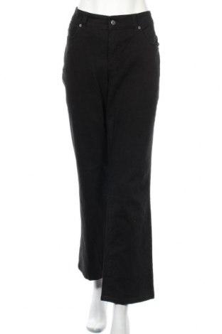 Дамски дънки Croft & Barrow, Размер XL, Цвят Черен, 97% памук, 3% еластан, Цена 12,29лв.