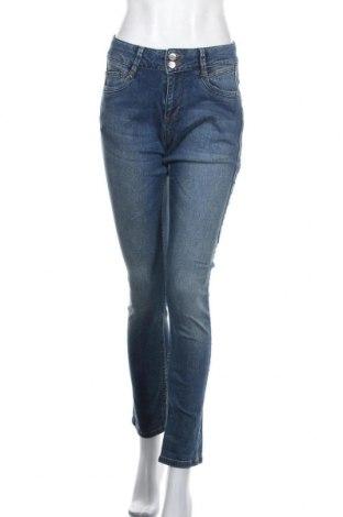 Дамски дънки Denim Hunter, Размер S, Цвят Син, 98% памук, 2% еластан, Цена 13,86лв.