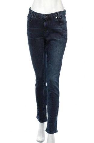 Дамски дънки Denim Hunter, Размер M, Цвят Син, 99% памук, 1% еластан, Цена 24,89лв.