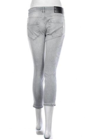 Дамски дънки Dondup, Размер M, Цвят Сив, 92% памук, 6% други тъкани, 2% еластан, Цена 201,75лв.