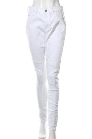 Дамски дънки Even&Odd, Размер L, Цвят Бял, Цена 26,04лв.