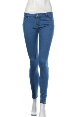 Дамски дънки Fb Sister, Размер M, Цвят Син, 73% памук, 23% 25% полиестер, 2% еластан, Цена 15,02лв.