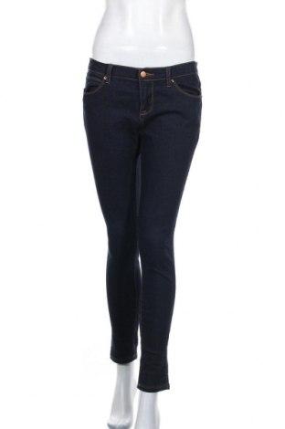 Дамски дънки Forever 21, Размер M, Цвят Син, 44% памук, 28% вискоза, 27% полиестер, 1% еластан, Цена 12,95лв.