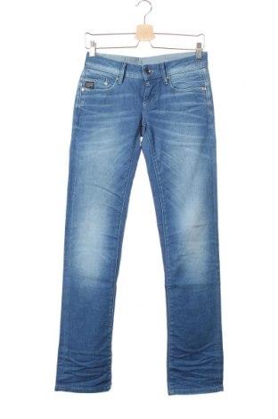 Дамски дънки G-Star Raw, Размер S, Цвят Син, 90% памук, 8% полиестер, 2% еластан, Цена 164,25лв.