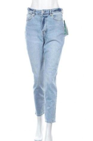 Дамски дънки H&M, Размер M, Цвят Син, 98% памук, 2% еластан, Цена 41,95лв.
