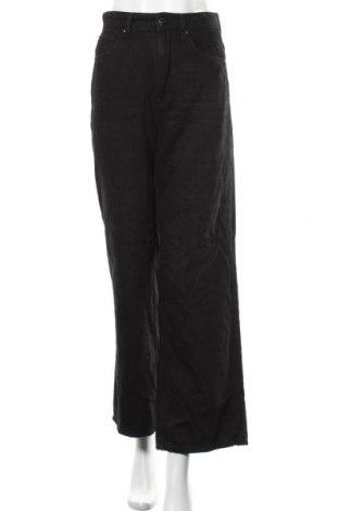 Дамски дънки H&M, Размер S, Цвят Черен, 100% памук, Цена 27,93лв.