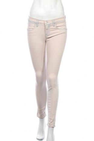 Дамски дънки J Brand, Размер S, Цвят Розов, 92% памук, 7% полиестер, 1% еластан, Цена 29,93лв.