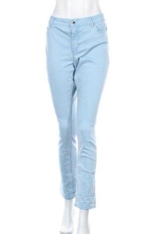 Дамски дънки Janina, Размер L, Цвят Син, 98% памук, 2% еластан, Цена 15,23лв.