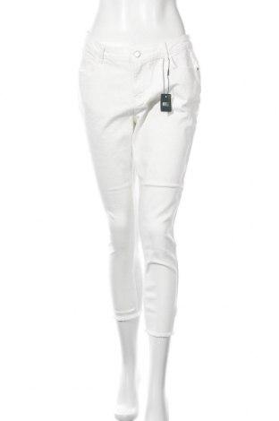 Дамски дънки Jdy, Размер M, Цвят Бял, 99% памук, 1% еластан, Цена 21,83лв.