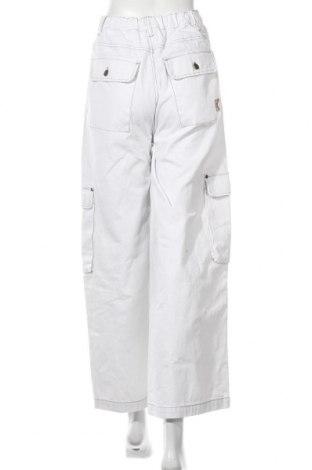 Дамски дънки Karl Kani, Размер S, Цвят Бял, Памук, Цена 35,92лв.