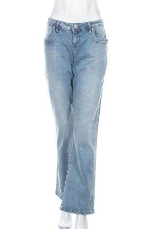 Дамски дънки Ltb, Размер XL, Цвят Син, 92% памук, 6% полиестер, 2% еластан, Цена 30,26лв.