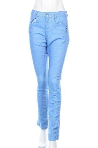 Дамски дънки M.a.p.p., Размер L, Цвят Син, 74% памук, 24% полиестер, 2% еластан, Цена 15,23лв.