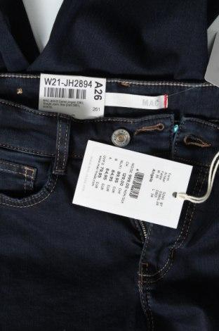 Дамски дънки Mac, Размер S, Цвят Син, 92% памук, 5% полиестер, 3% еластан, Цена 89,25лв.