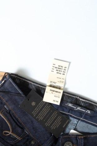 Дамски дънки Mavi, Размер S, Цвят Син, 74% памук, 26% еластан, Цена 23,80лв.