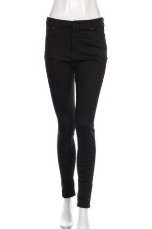 Дамски дънки Meraki, Размер L, Цвят Черен, 84% памук, 13% полиестер, 3% еластан, Цена 15,11лв.