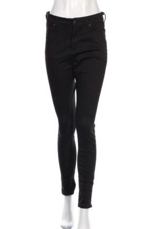 Дамски дънки Meraki, Размер L, Цвят Черен, 84% памук, 13% полиестер, 3% еластан, Цена 26,24лв.