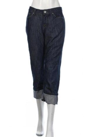 Дамски дънки Merona, Размер M, Цвят Син, 65% памук, 35% полиестер, Цена 6,04лв.