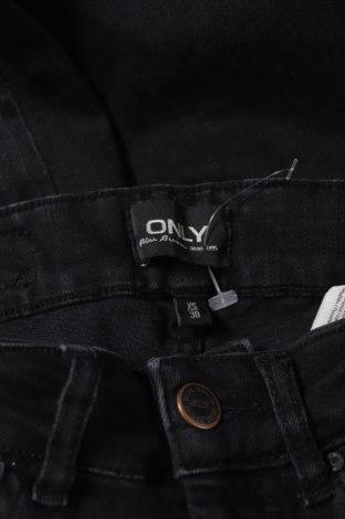 Дамски дънки ONLY, Размер XS, Цвят Сив, 92% памук, 8% еластан, Цена 19,84лв.