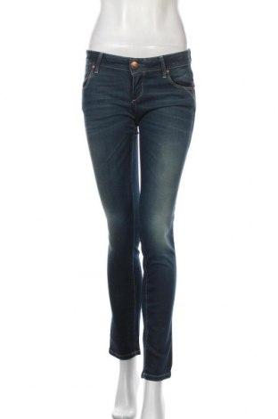 Дамски дънки ONLY, Размер S, Цвят Син, 98% памук, 2% еластан, Цена 14,31лв.