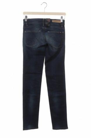 Дамски дънки ONLY, Размер XS, Цвят Син, 98% памук, 2% еластан, Цена 14,48лв.
