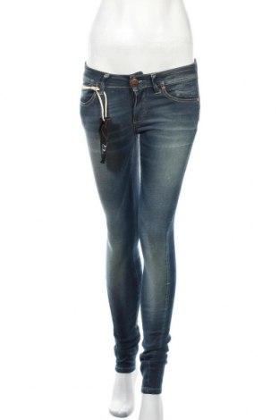 Дамски дънки ONLY, Размер M, Цвят Син, 98% памук, 2% еластан, Цена 25,53лв.