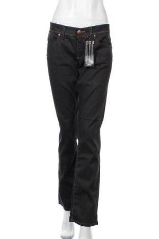 Дамски дънки ONLY, Размер XL, Цвят Черен, 98% памук, 2% еластан, Цена 26,70лв.