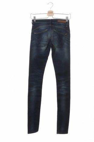 Дамски дънки ONLY, Размер XS, Цвят Син, 98% памук, 2% еластан, Цена 25,53лв.