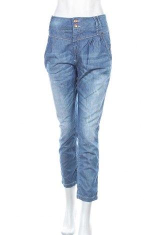Дамски дънки ONLY, Размер L, Цвят Син, 98% памук, 2% еластан, Цена 13,70лв.