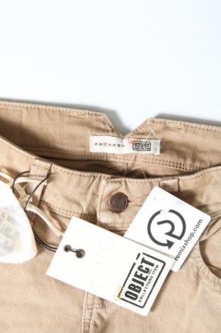 Дамски дънки Object, Размер S, Цвят Бежов, 98% памук, 2% еластан, Цена 18,90лв.