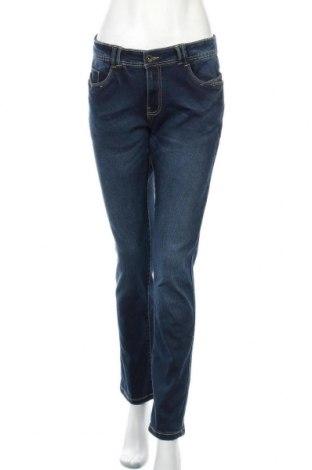 Дамски дънки Pescara, Размер M, Цвят Син, 73% памук, 25% полиестер, 2% еластан, Цена 19,32лв.