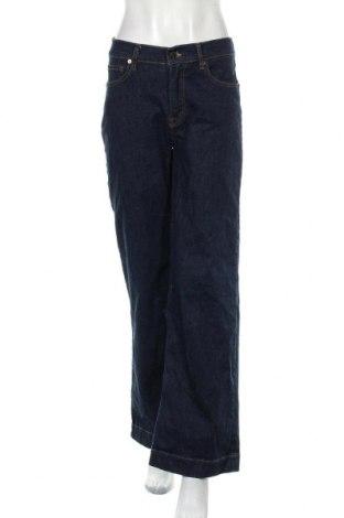 Дамски дънки Pieszak, Размер M, Цвят Син, 89% памук, 9% полиестер, 2% еластан, Цена 25,20лв.