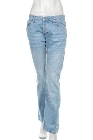 Дамски дънки Please, Размер M, Цвят Син, Памук, Цена 36,00лв.
