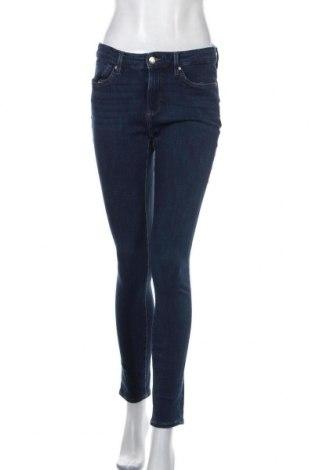 Дамски дънки S.Oliver, Размер M, Цвят Син, 47% памук, 37% лиосел, 17% полиестер, 3% еластан, Цена 18,27лв.