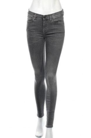 Дамски дънки Selected Femme, Размер M, Цвят Сив, 83% памук, 15% полиестер, 2% еластан, Цена 24,99лв.