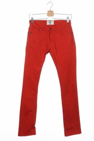 Дамски дънки Tiger Of Sweden, Размер S, Цвят Червен, 98% памук, 2% еластан, Цена 15,93лв.