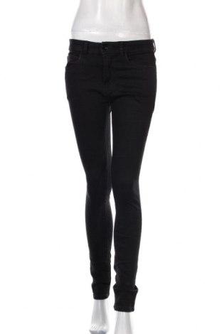 Дамски дънки Tom Tailor, Размер S, Цвят Черен, 64% памук, 31% полиестер, 3% вискоза, 2% еластан, Цена 15,44лв.