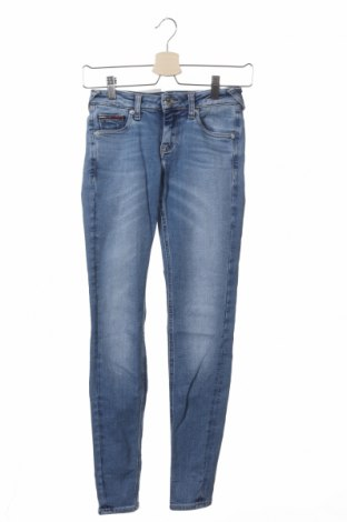 Дамски дънки Tommy Hilfiger, Размер XXS, Цвят Син, 83% памук, 10% модал, 7% еластан, Цена 56,70лв.
