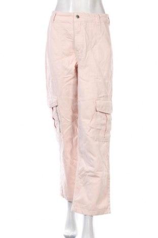 Дамски дънки Topshop, Размер M, Цвят Розов, Памук, Цена 20,42лв.