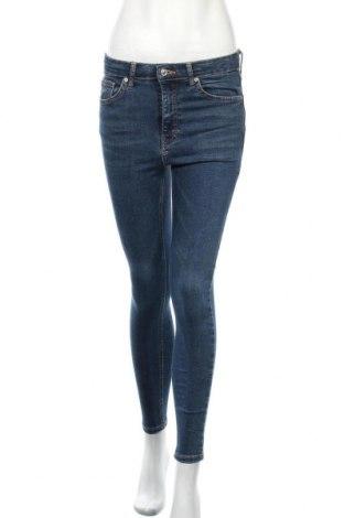 Дамски дънки Topshop, Размер S, Цвят Син, 92% памук, 8% еластан, Цена 63,00лв.