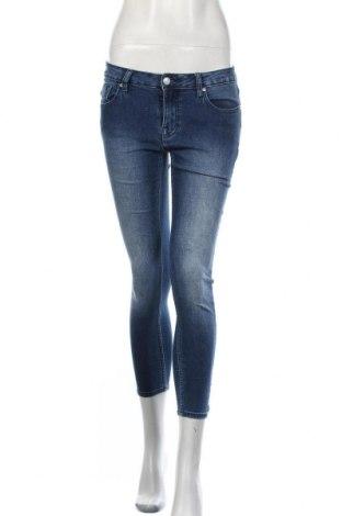 Дамски дънки Vigoss, Размер S, Цвят Син, 66% памук, 32% полиестер, 2% еластан, Цена 18,90лв.